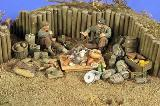 "2779 ""Camping Grounds"" U.S. WWII Infantry (2 Figures)"