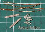 ER-3546 1/35 Towing cables- WWII British Tanks & SPGs