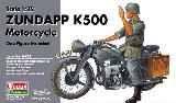 56003 German Zundapp K500 Motorcycle