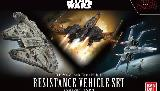 Resistacne Vehicle Set 1/144 & 1/350 Scale (The Last Jedi)