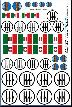 WWII Italian Roundels & Flag Decals 1/32 1/35 1/48 1/72 Ju-87 Me-109 Storch