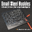 Small Steel Photoetch Buckle Set