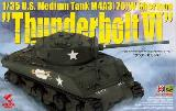 35036 U.S. Medium Tank M4A3 (76) W Sherman `Thunderbolt VI`
