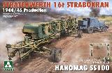 2124 16t Strabokran with a Vidalwagen and SS100 tractor