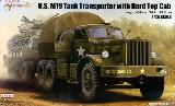 63501 US M19Tank Transporter with Hard Top Cab