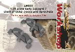 LW036 - 1:35 scale Early Leopard 1 Diehl D139E2 Tracks and Sprockets
