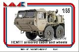 F 3064 HEMTT- ARMORED CAB, WHEELS- CONVERSION SET