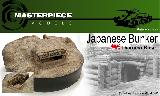 1/35TH JAPANESE LOG BUNKER BASE