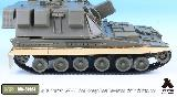 MA-35023 1/35 British AS-90 Self-Propelled Howitzer Side Skirts set for Trumpeter