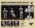 35007 Modern US Army driver and support crew for MRAP