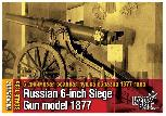 "MCA35337 - Russian 6"" Siege Gun Model 1877, 1/35"