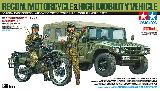 25188 JGSDF Recon. Motorcycle & HMV Set